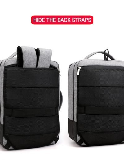 Anti-Theft Commuter - Hide Back Straps