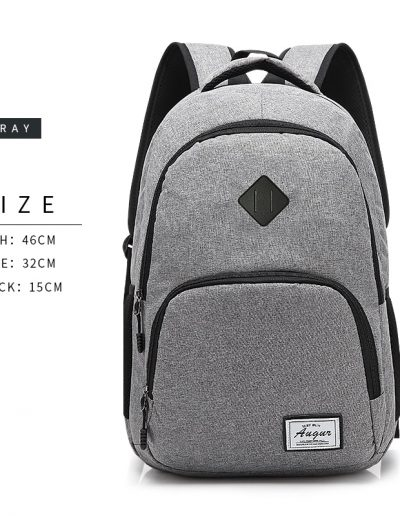 AUGUR Casual Backpack - Dimensions