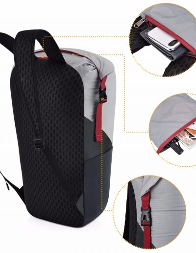 Gonex 35L Ultralight Foldable Backpack - Features